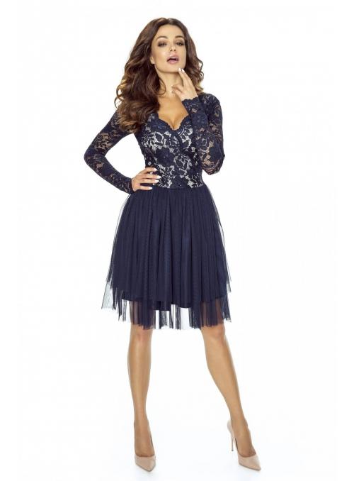"""Šaty """"Blue velvet"""""""
