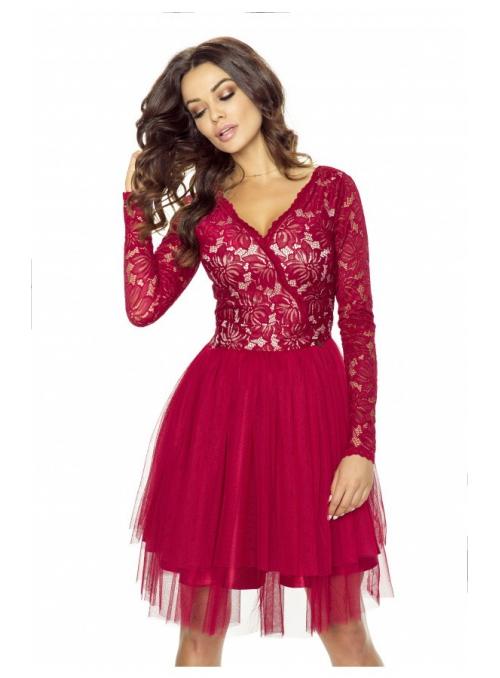 """Šaty """"Red velvet"""""""