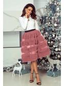 DADOO dámská sukně pudrově růžová