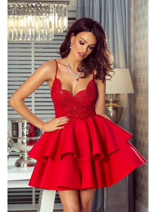 """Šaty """"Lejla červené"""""""