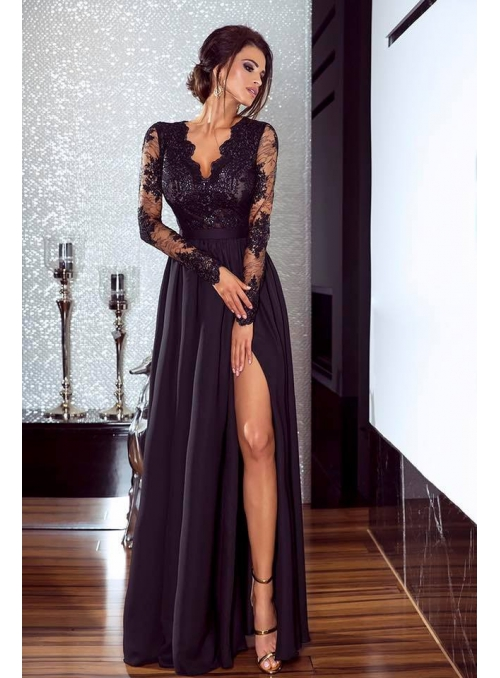 "Šaty ""černé + černý top"""
