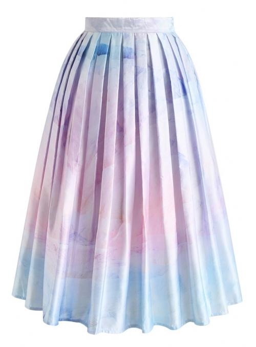 """Midi skirt """"Waterfall"""""""