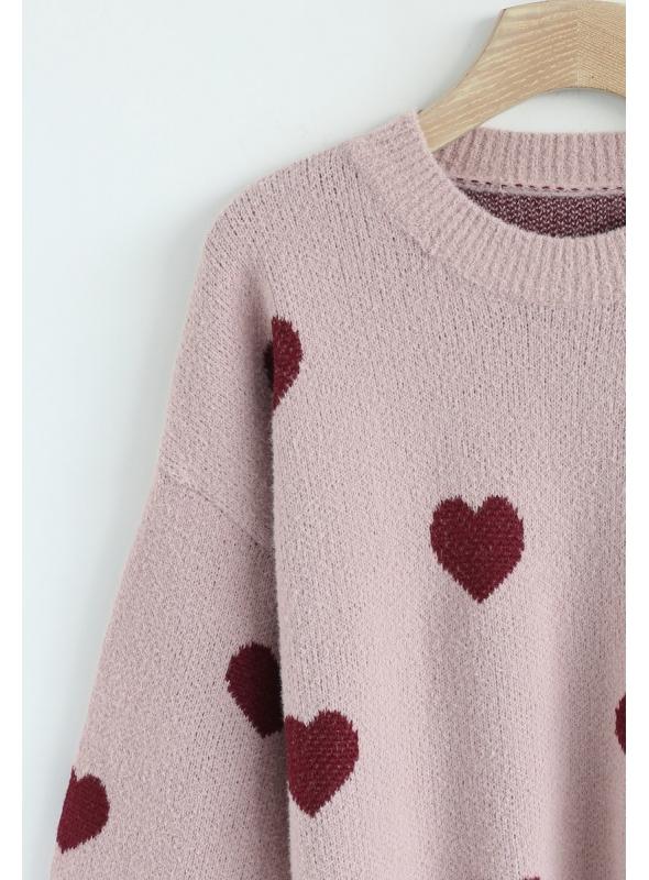 "Sveter ""Be my Valentine"""