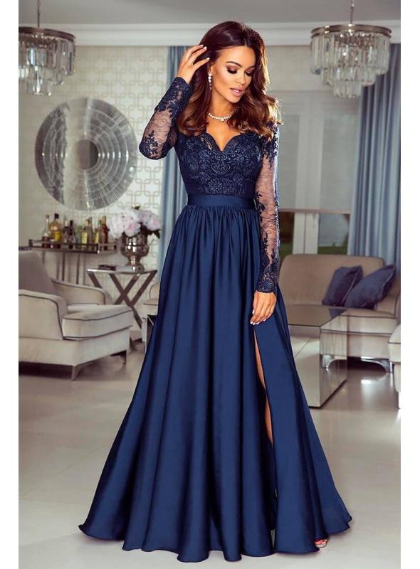 """Šaty """"Lace blue"""""""