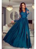 """Šaty """"Lace light blue"""""""