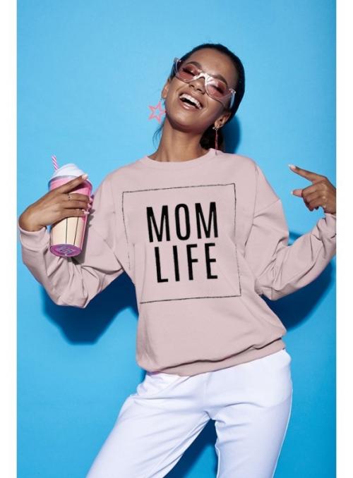 "Hoodie ""Mom Life"""