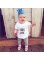 KIDS LIFE – dětské tričko, bílé