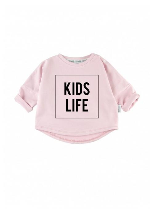 KIDS LIFE – detská mikina, ružová