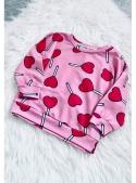 HEART LOLLIPOPS - children's sweatshirt