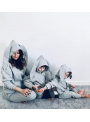 Gray women's sweatshirt BUNNY