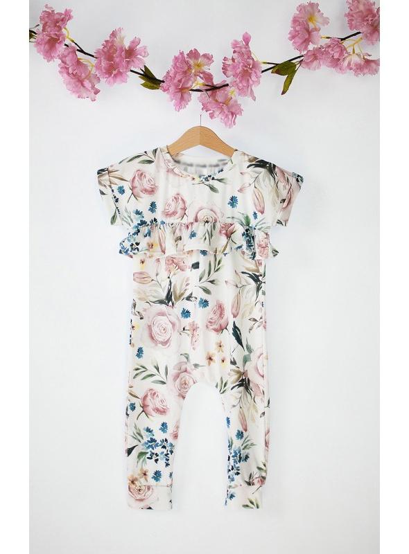 Summer jumpsuit ROSE GARDEN