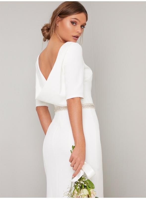 """PREDOBJEDNÁVKA - Svadobné šaty s ¾ rukávom """"simply LOVE"""""""