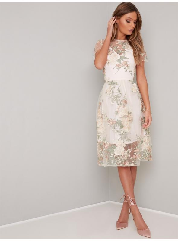 """Ladies dress """"Ivory Splendor"""""""