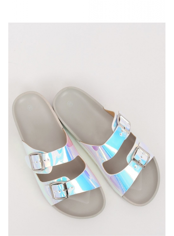 "Dámské pantofle ""Unicorn in grey"""