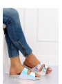 "Women's slippers ""Unicorn in gray"""