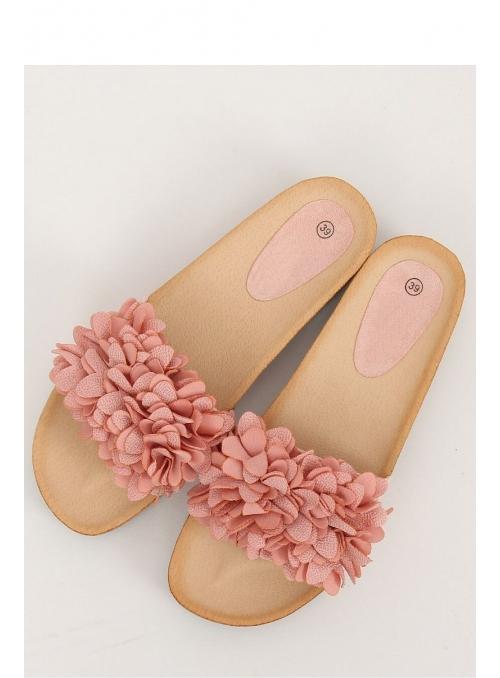 """Dámske šľapky """"Pinky flowers"""""""