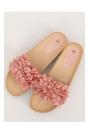 "Dámské pantofle ""Pinky flowers"""