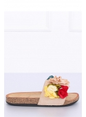"Women's slippers with flowers ""BRASIL"""