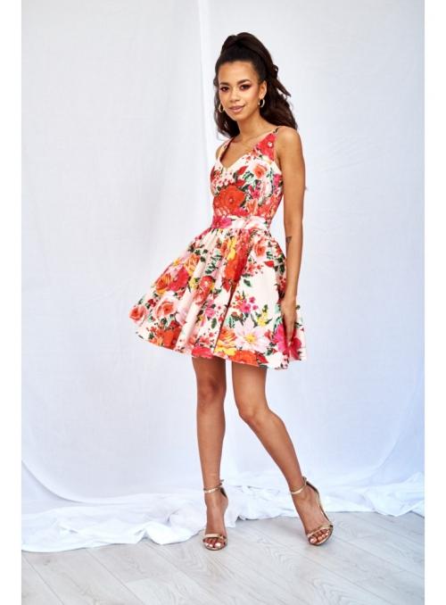 """Mini šaty """"VLČIE MAKY"""""""