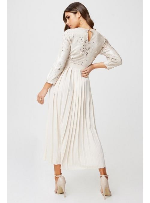 """Midi šaty """"Snehová dáma"""""""