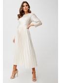 """Midi šaty """"Sněhová dáma"""""""