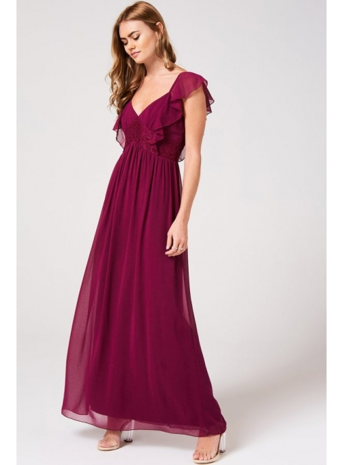 "Maxi dress ""Miss Bordeaux"""