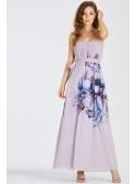 """Maxi šaty """"Fialový leknín"""""""