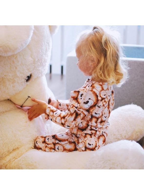 """""""Medvedíky"""" – detská mikina - 0-3 mes"""