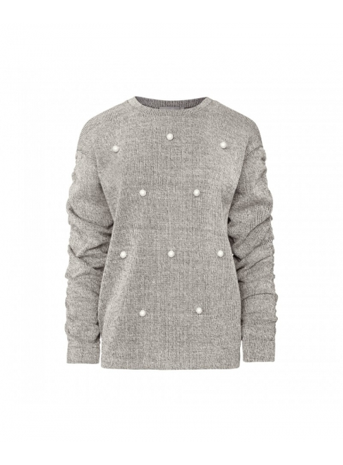 "Ladies sweater with pearls ""Madlenka"""