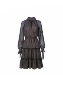Šaty Jozefína - dámské tmavomodré šaty