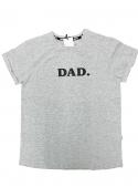 DAD. – pánské tričko, šedé