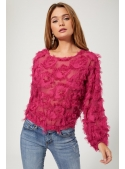 "Ladies top ""Fuchsia joy"""