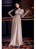Maxi beige dress - Cold Love