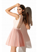 Princess Carolina mini dress, powder pink