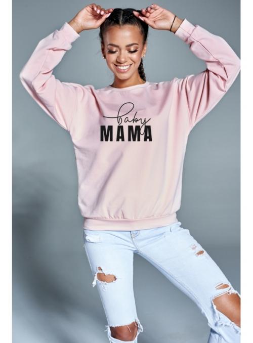 """BABY mama"" – dámska mikina - S"