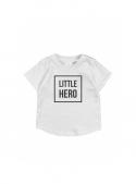 LITTLE HERO – children's t-shirt, grey