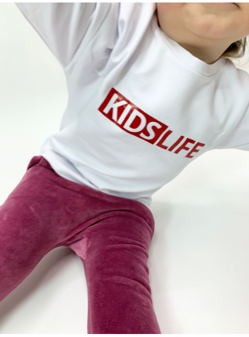 KIDS LIFE - children's sweatshirt, white