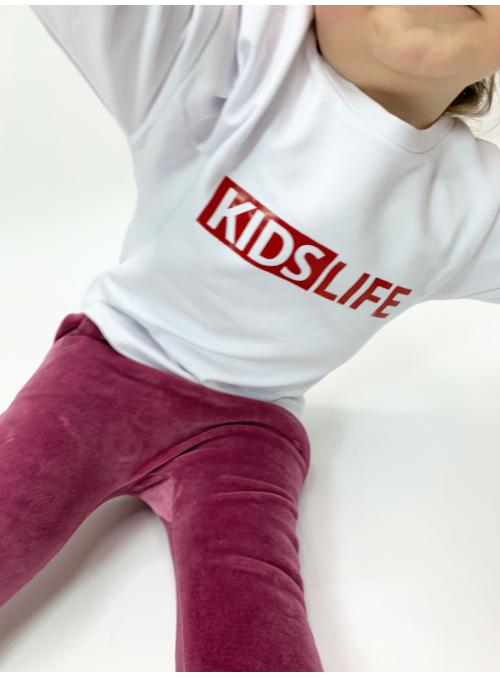 KIDS LIFE - children's sweatshirt, white