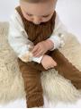Mikina s brmbolcami - 3-6 mes
