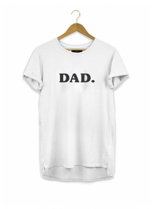 DAD. – pánske tričko, biele - S