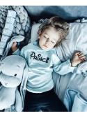 PRINC – bleděmodrá dětská mikina