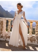 "Maxi dress ""Adelka"", white"