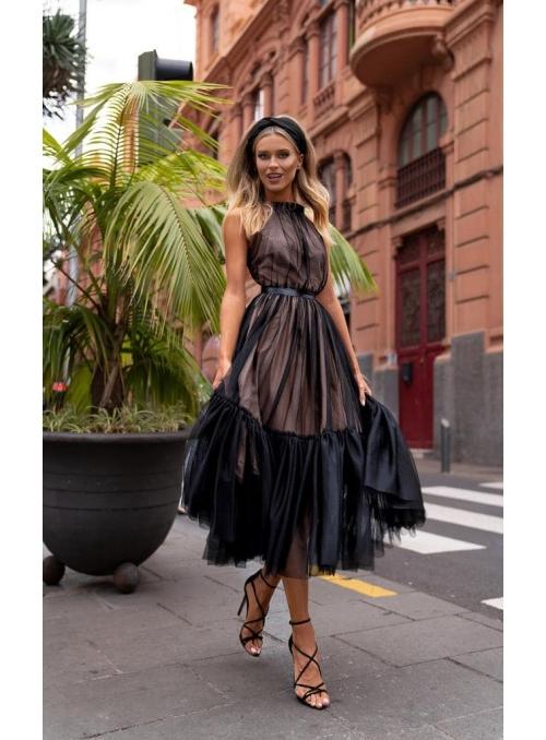 "Midi dress ""Klara"", black"