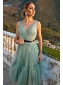 """Midi dress """"Parisian"""", mint"""