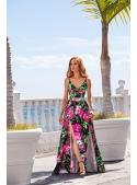 """Maxi dress """"SWEET DREAMS"""", peonies"""