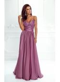 """Maxi dress """"Bella"""", strawberries"""