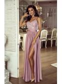 """Maxi šaty """"Bella"""", růžové"""