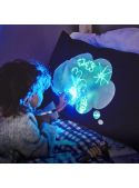 Fun luminescent laser cushion cover + laser pen
