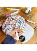 """""""Ice cream - cap for coloring"""""""