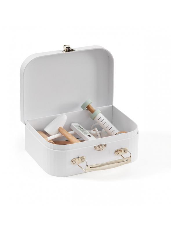 Detský lekársky kufrík, biely